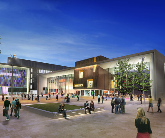 Doncaster's new performance venue overview