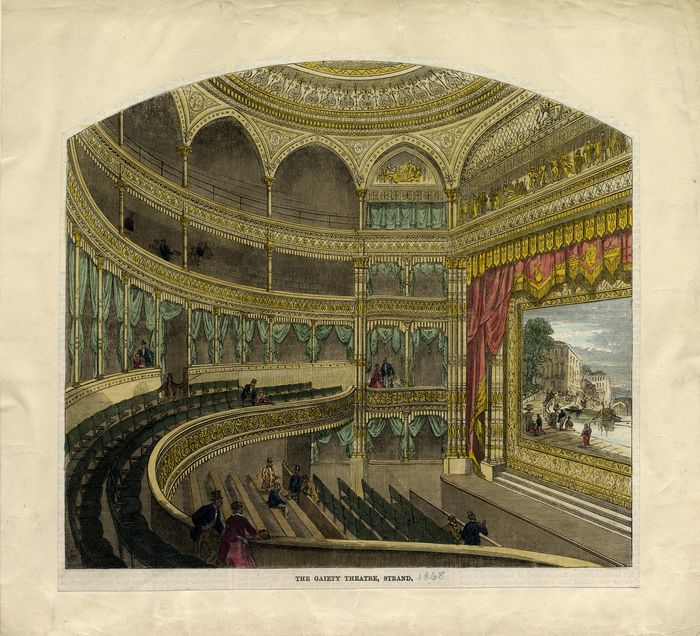 Gaiety Theatre, Strand