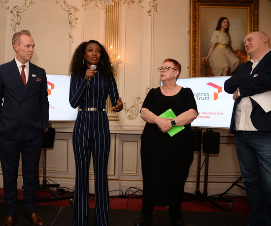 Beverley Knight at Patrons event