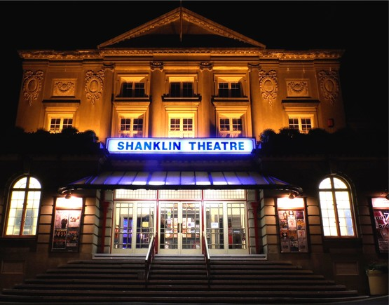 Shanklin theatre at night listing