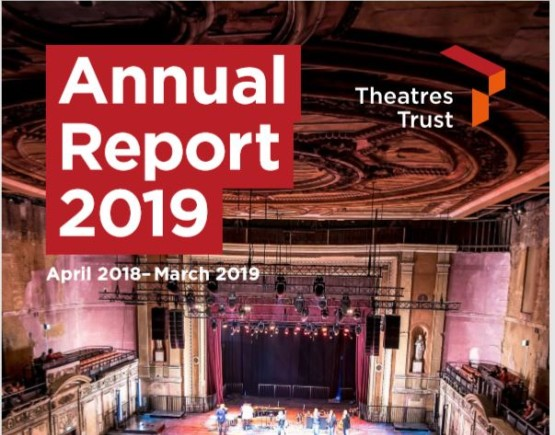Annual report 2019 front cover listing