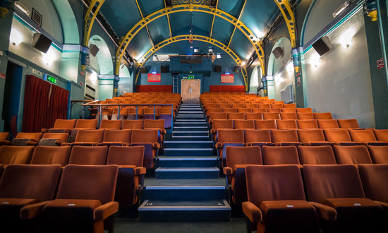 Wallingfordcornexchange auditorium seat view case study