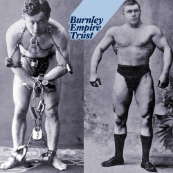 Houdini and Hackenschmidt movie first-ever film released by Houdini, and now known to have been shown first at Burnley Empire - in 1905.